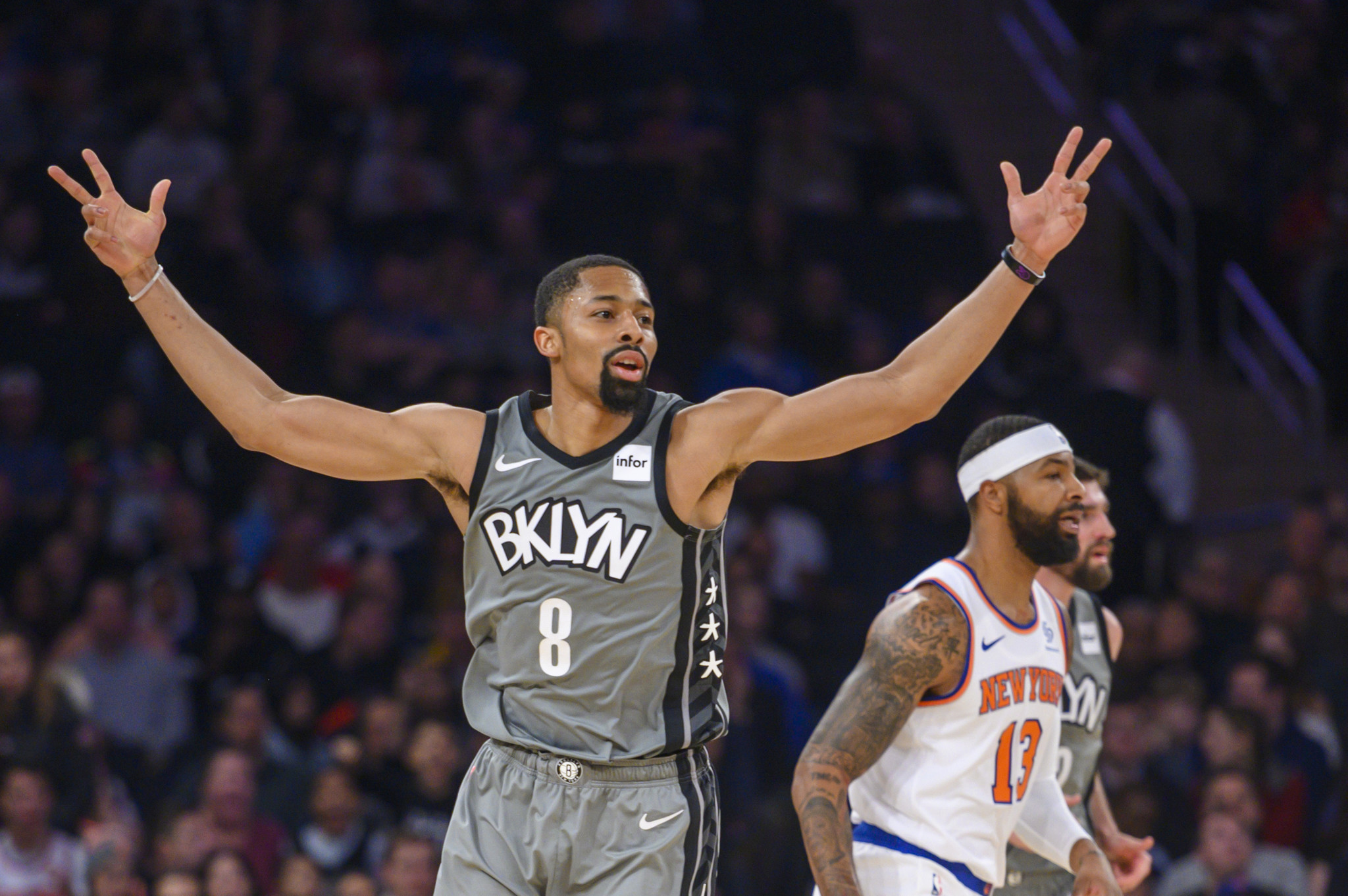 Nets escape from the Garden with a narrow victory over the Knicks