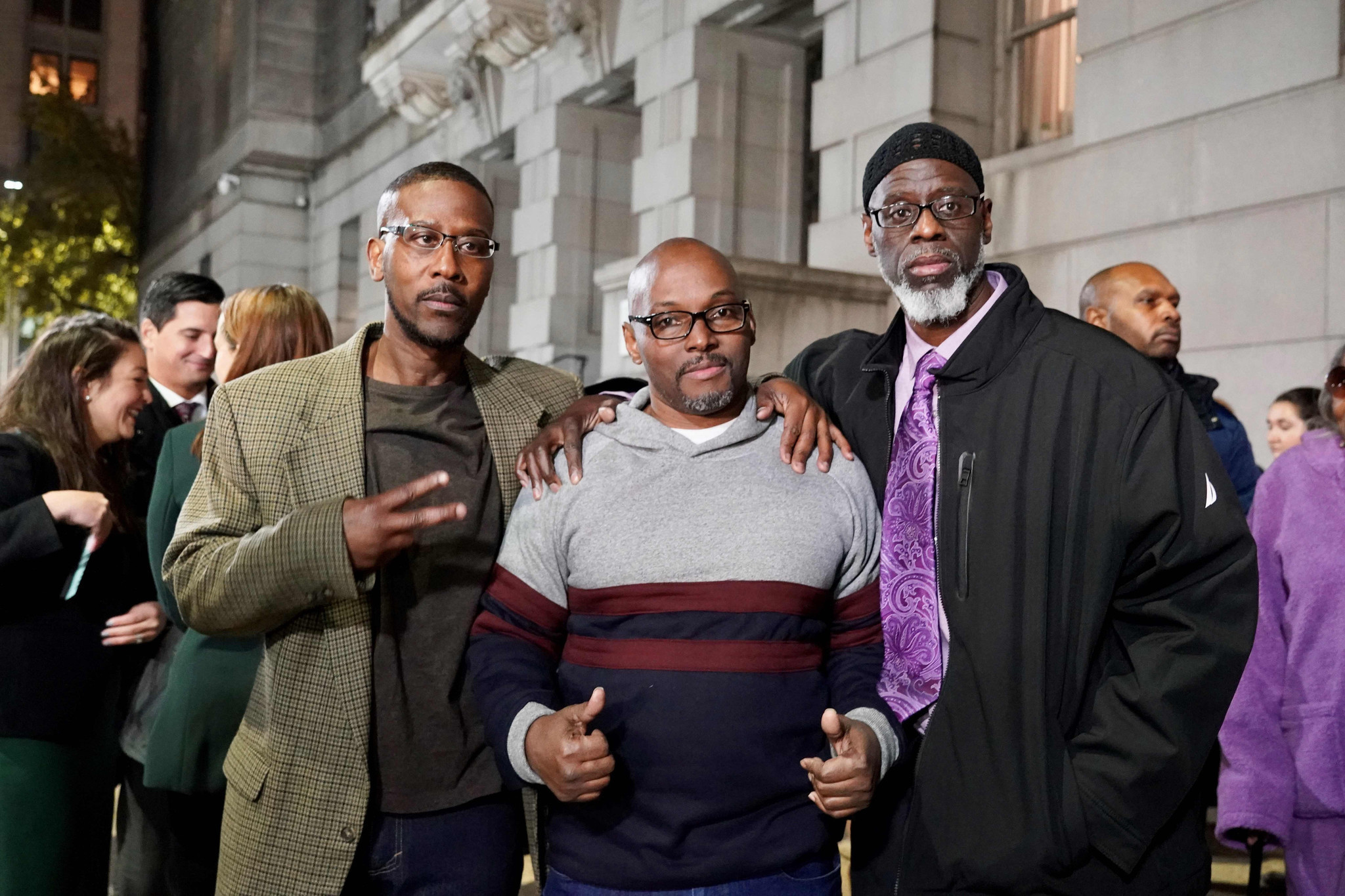 Three Baltimore men exonerated after 36 years in prison for teen's murder