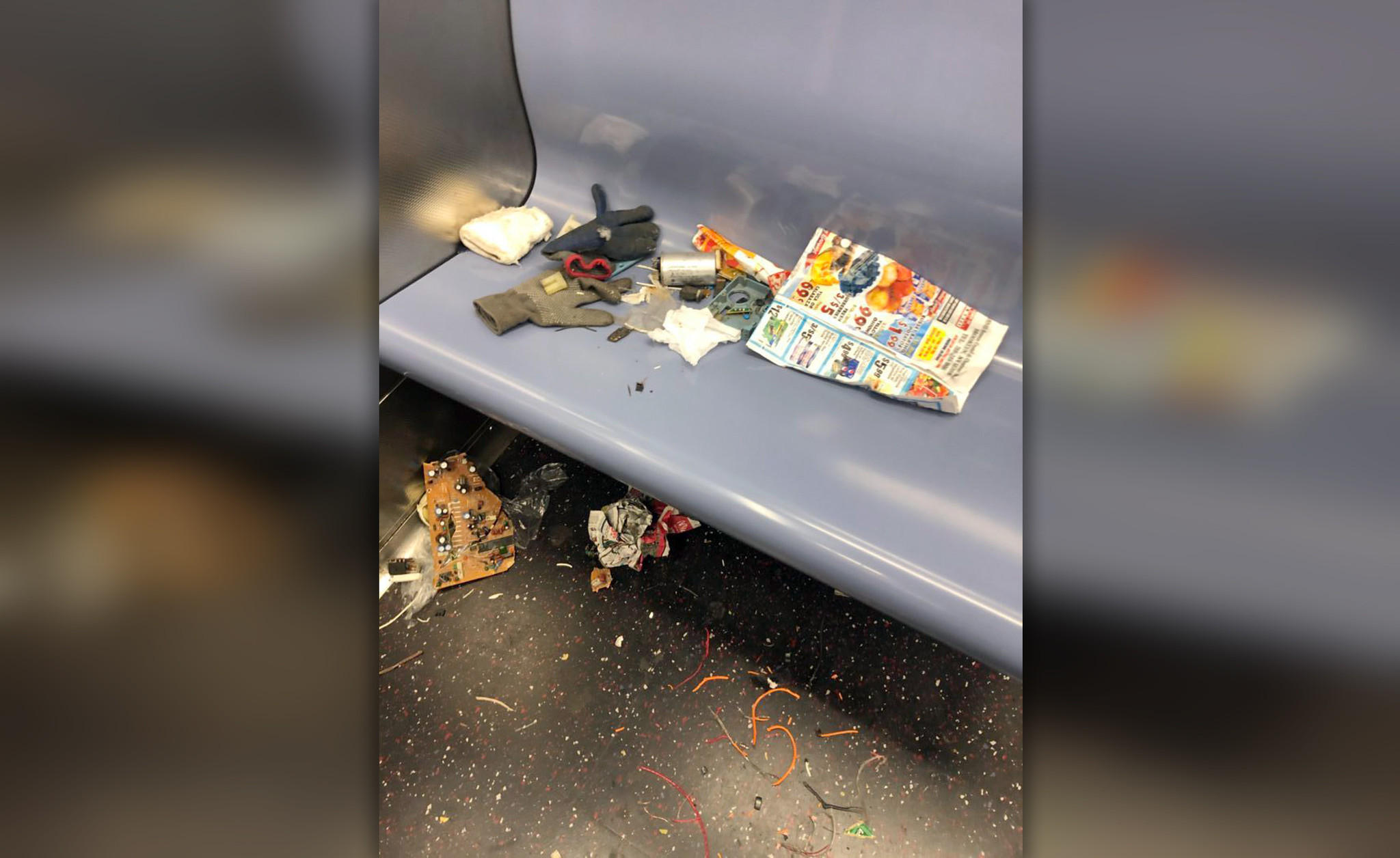 MTA workers say job cuts led to more filth on NYC subway cars