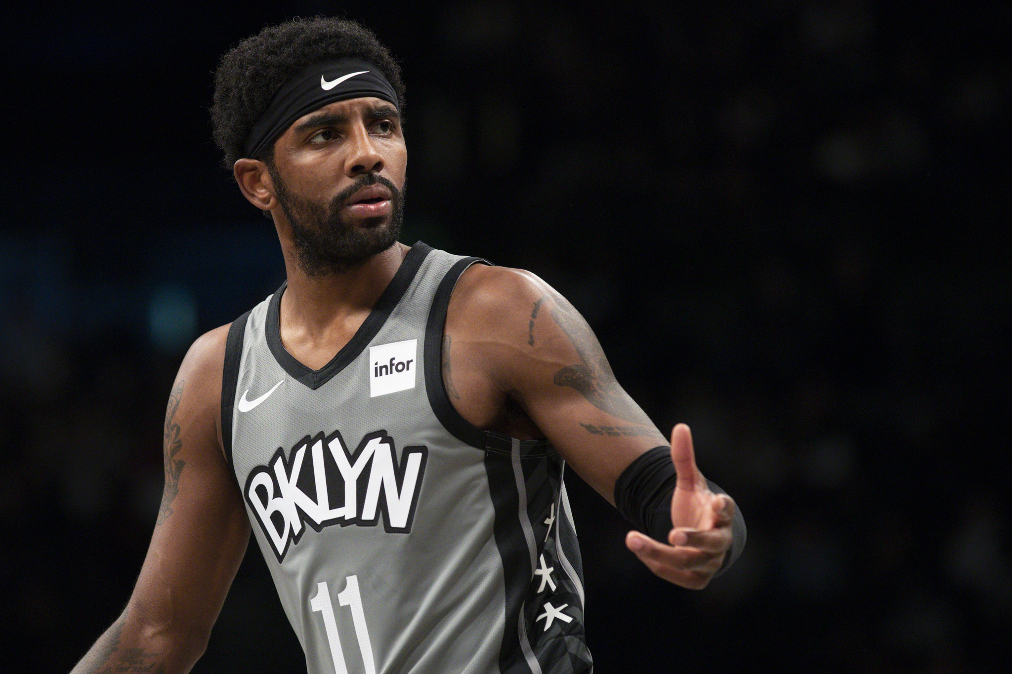 Kyrie Irving and Caris LeVert are progressing, but not ready yet