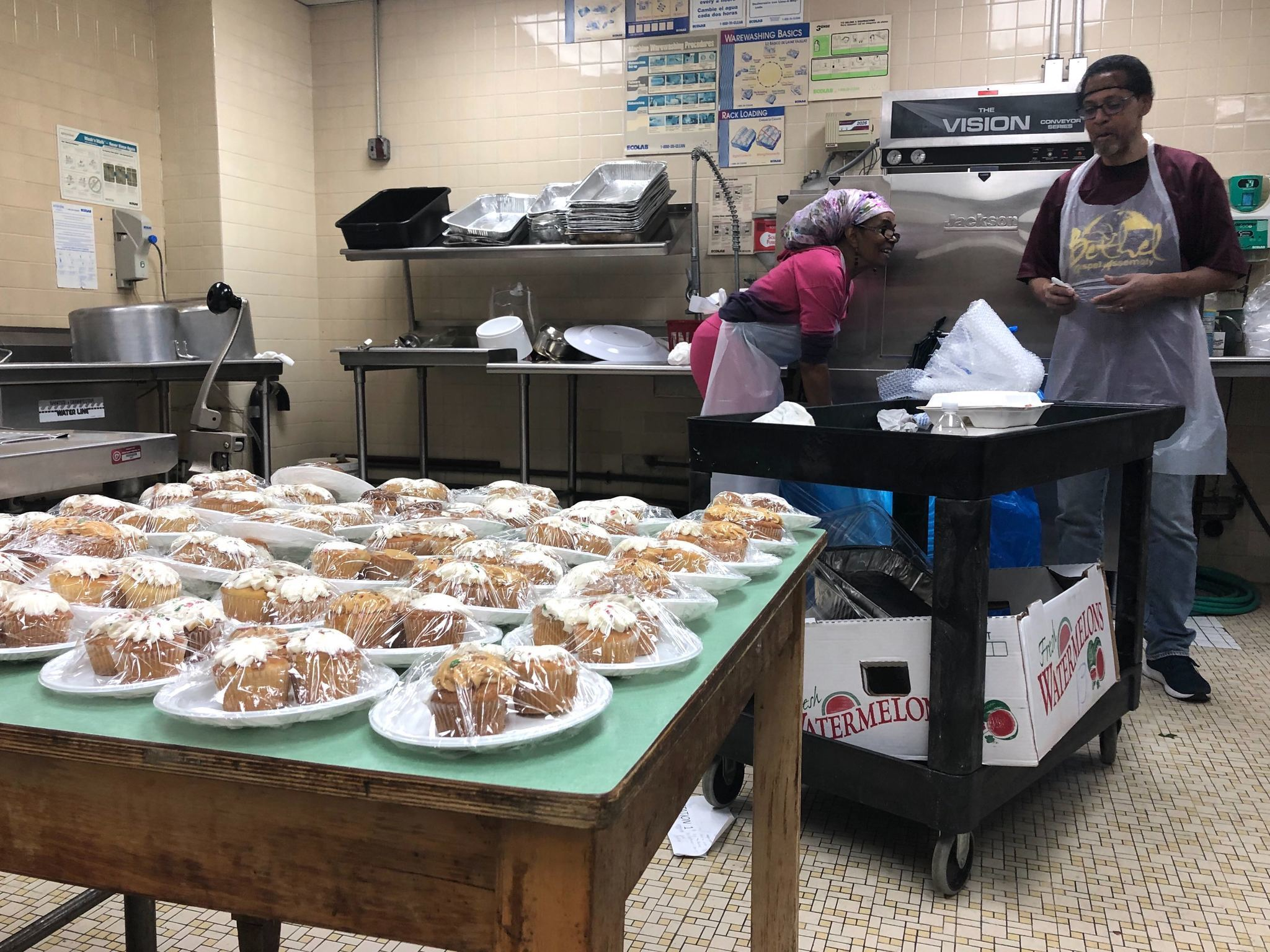 East Harlem church serves up hot meals and hope during annual Thanksgiving feast