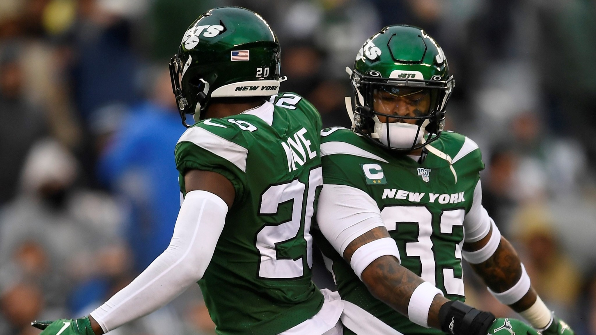 Marcus Maye, Jamal Adams have been fearsome safety pair for Jets
