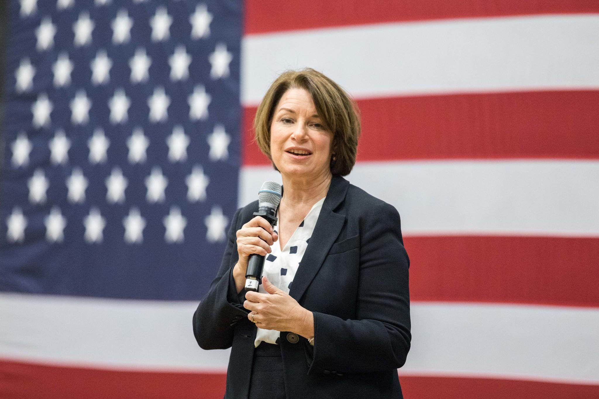Sen. Amy Klobuchar slams Trump's Ukraine efforts as 'global Watergate'