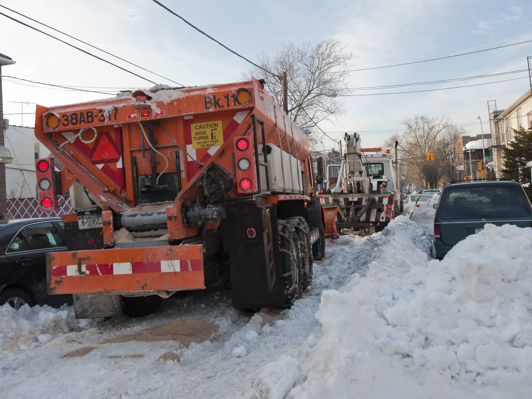Scattered snow equipment breakdowns show city's not ready for next big storm, says mechanics' union leader