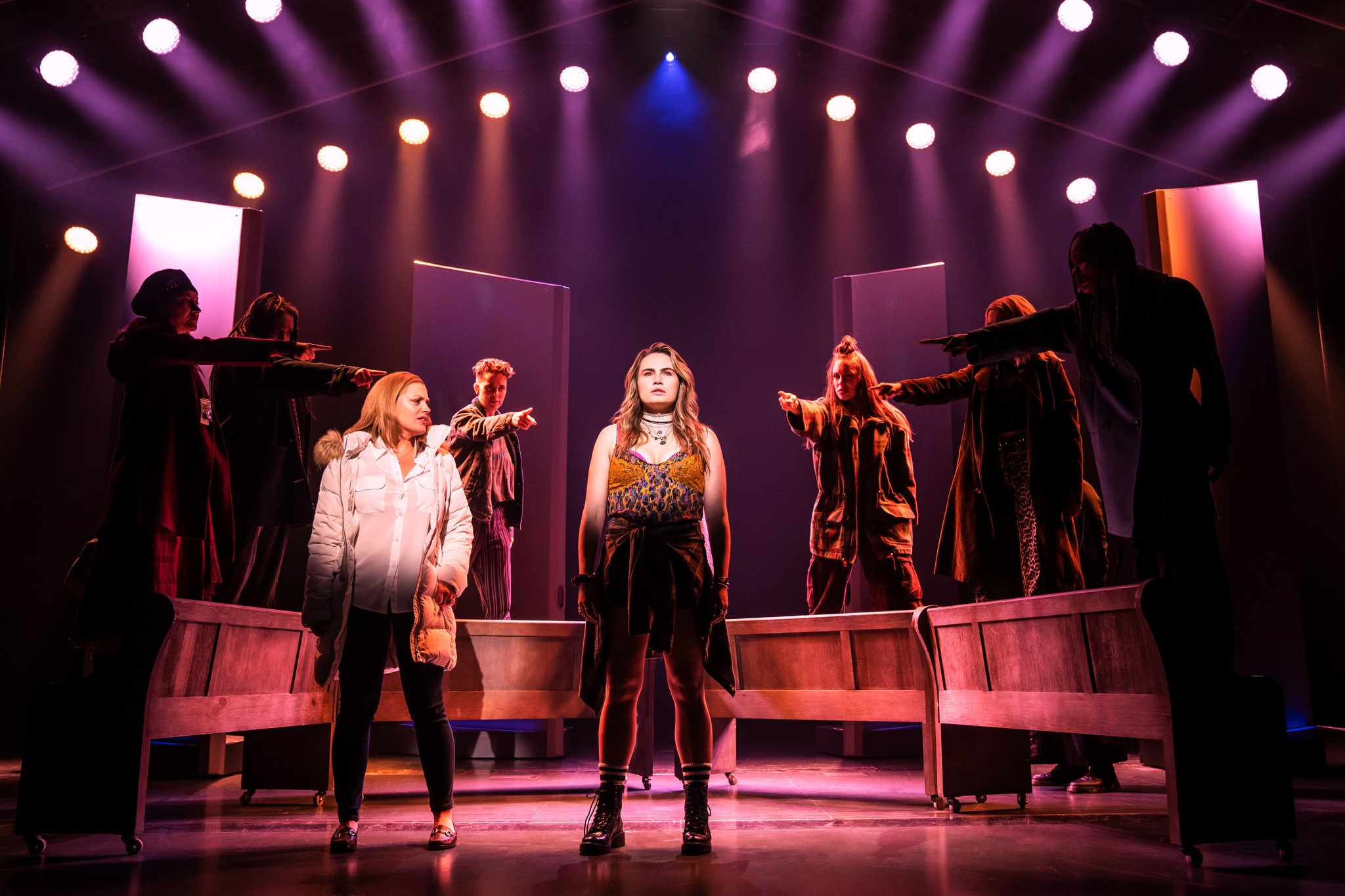 BROADWAY REVIEW: Overstuffed, simplistic Alanis Morissette musical 'Jagged Little Pill' is hard to swallow