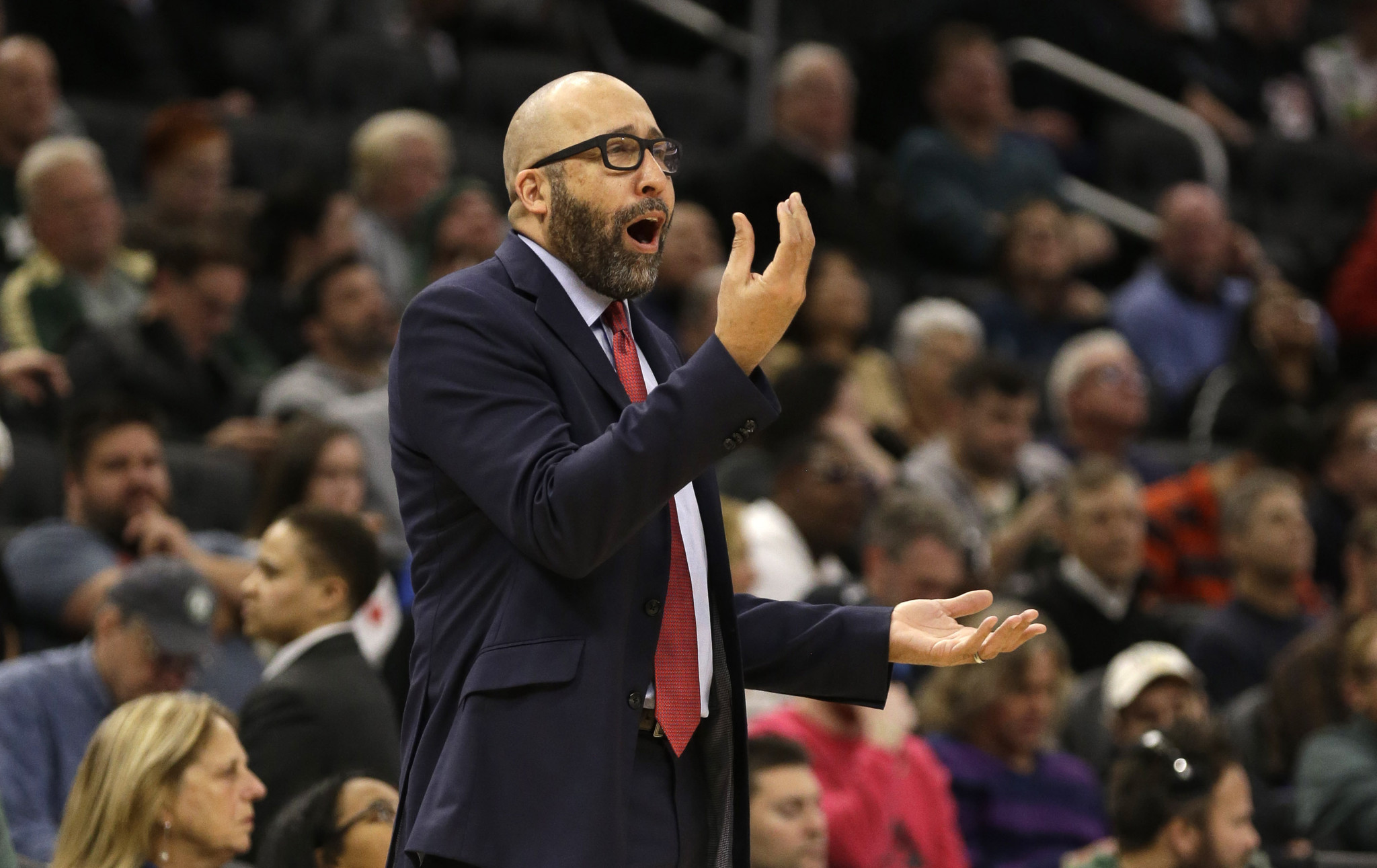 The Knicks are directionless with a coach hanging by a thread