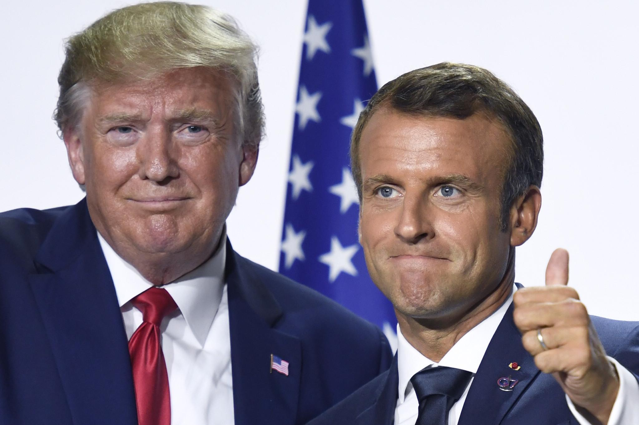 Trump snipes at 'nasty' Emmanuel Macron as NATO summit kicks off