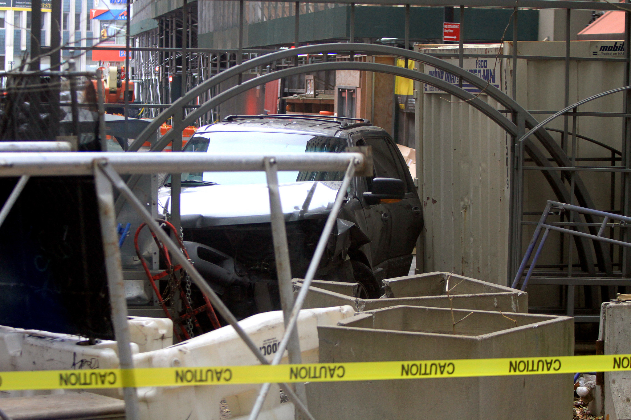 Woman, 40, fatally struck crossing street in NYC