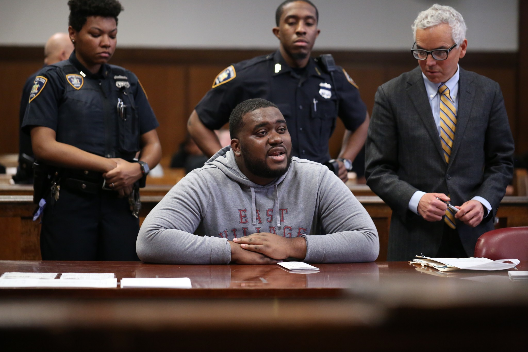 Mentally ill FedEx worker sentenced to 10 years in prison for Midtown stabbing