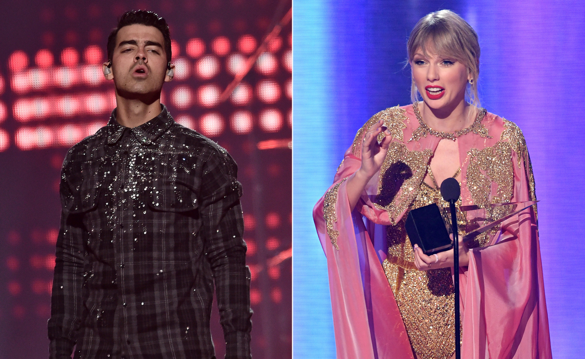 Joe Jonas covers ex Taylor Swift's song 'Lover' with a ... fraternal twist