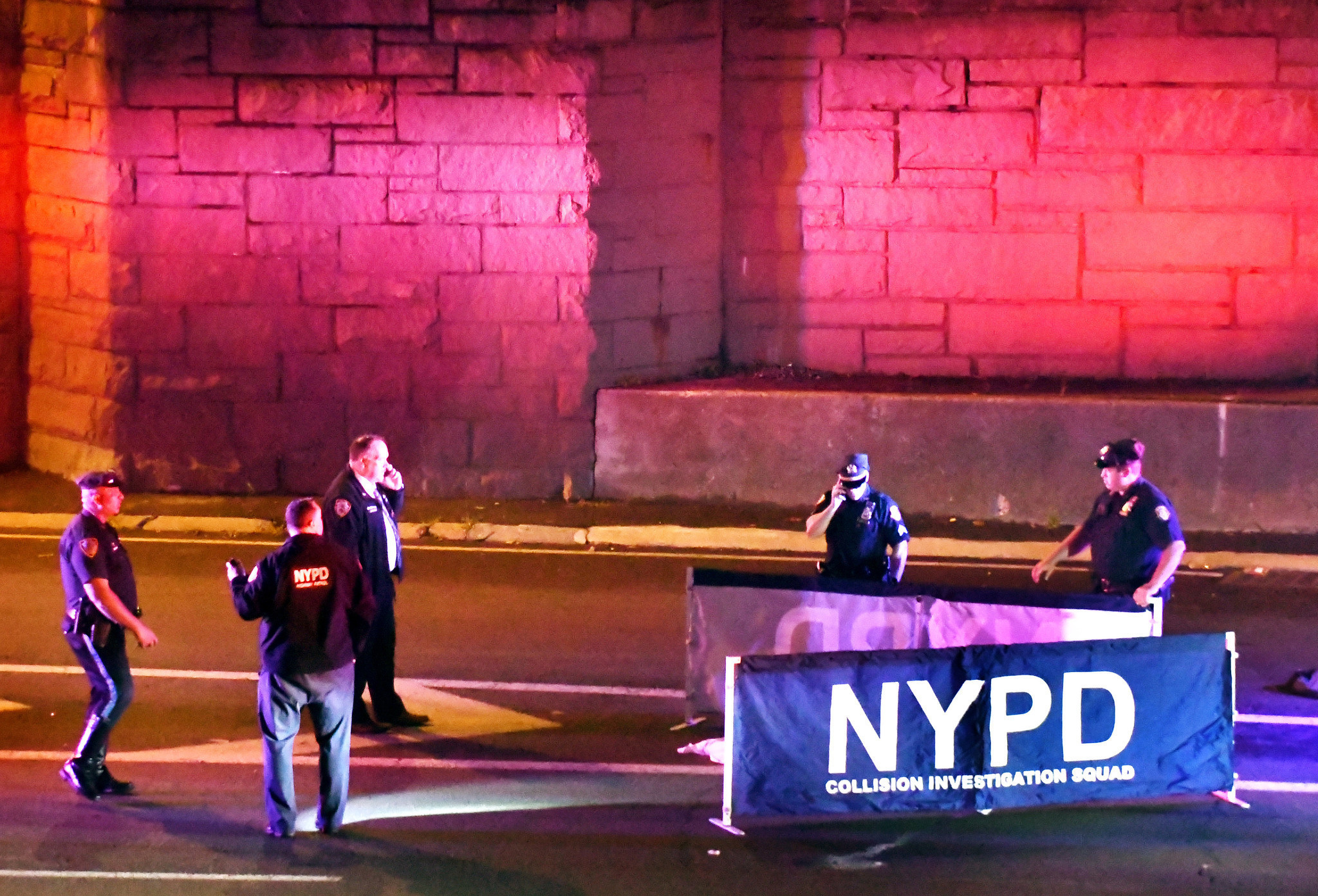 Cops bust dump truck driver they say fatally struck man on NYC highway