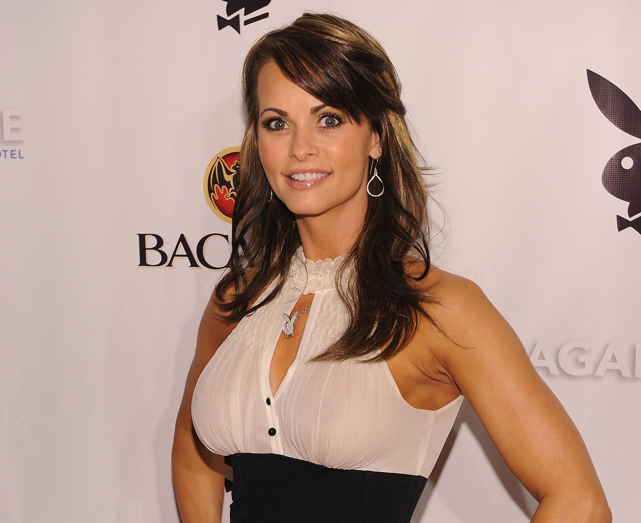 Playboy model Karen McDougal sues Fox News over Tucker Carlson remarks alleging she tried to shake down President Trump