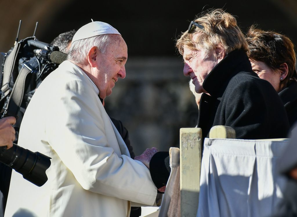 Robert Redford thanks Pope Francis for environmental support