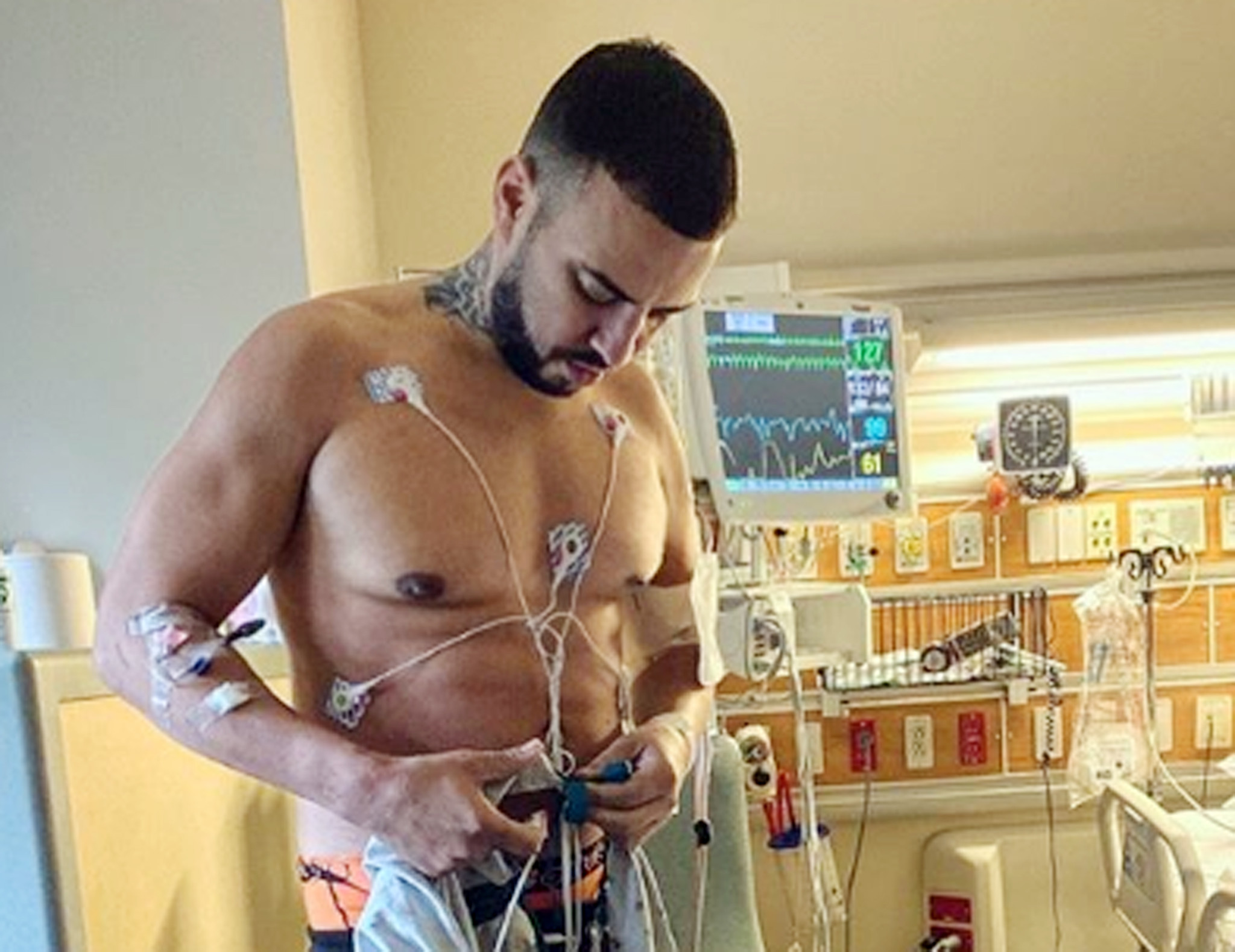 French Montana's out of hospital after two-week stay, but month of bed rest ordered by docs