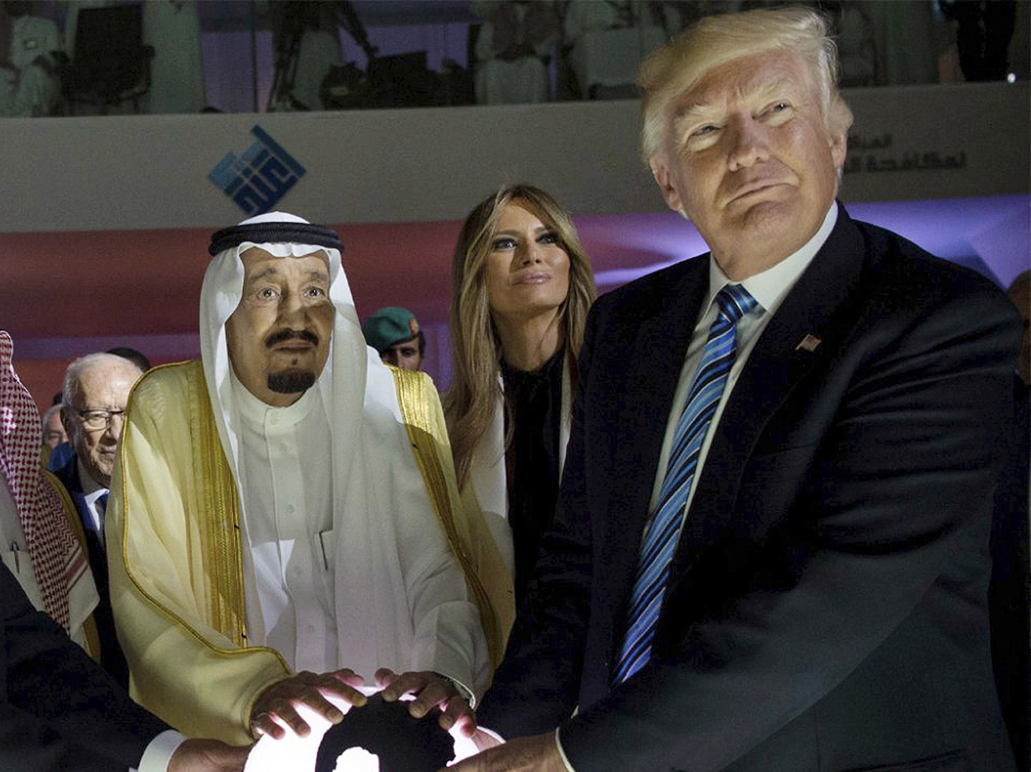 Trump says Saudi king called after Pensacola shooting to offer 'sympathies,' raising eyebrows about his ties to the kingdom