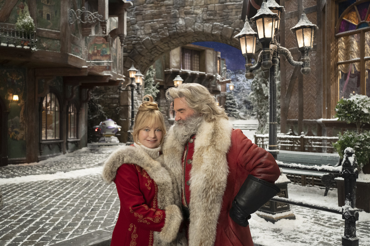 Lovebirds Goldie Hawn and Santa baby Kurt Russell together for Netflix's 'The Christmas Chronicles 2'