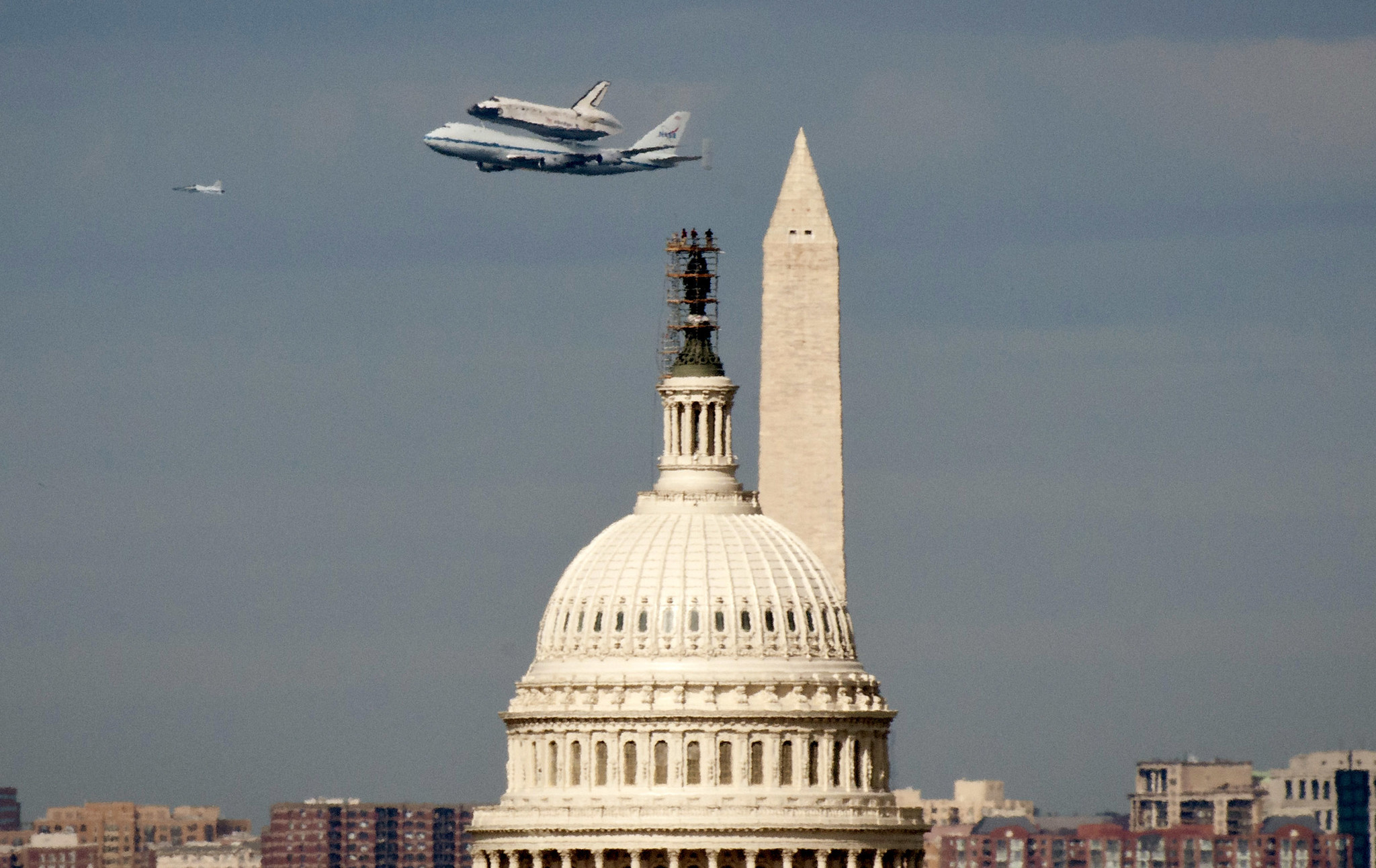 Federal workers to get 12 weeks paid family leave in tentative deal to create Space Force