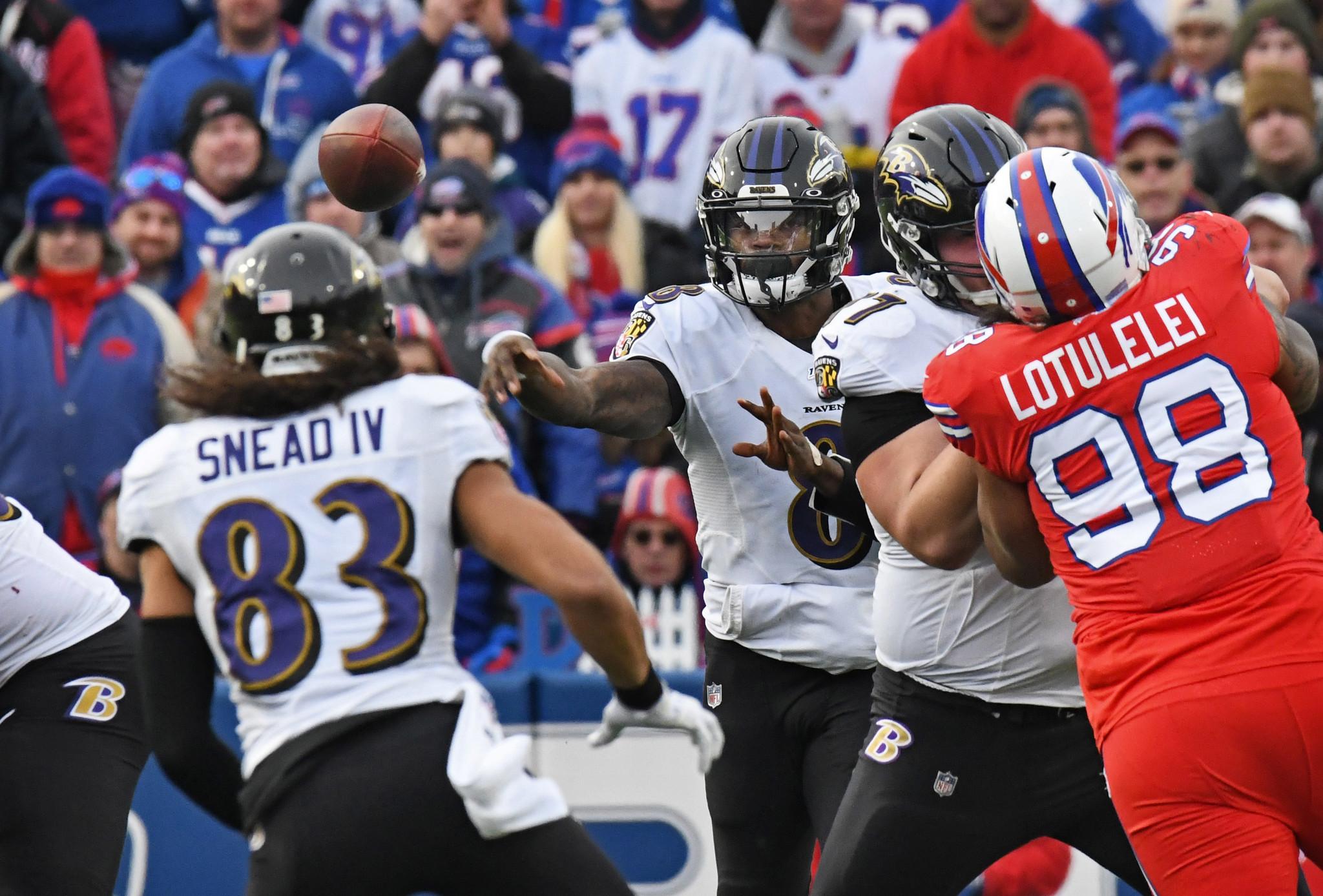 Ravens Vs Bills Dec 8 2019 Photos Capital Gazette