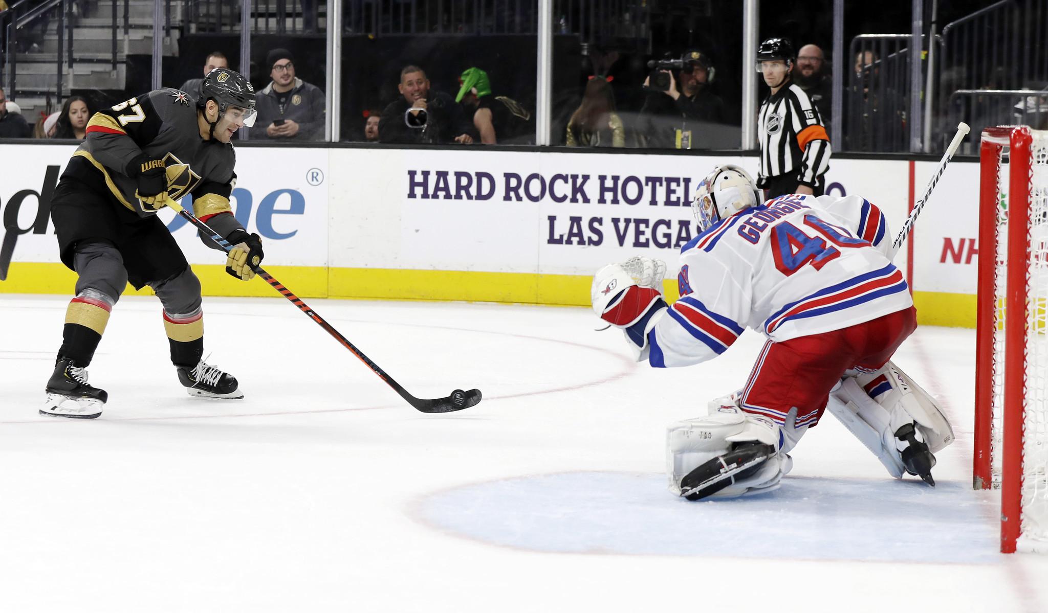 Alexandar Georgiev stifles Golden Knights in Rangers win