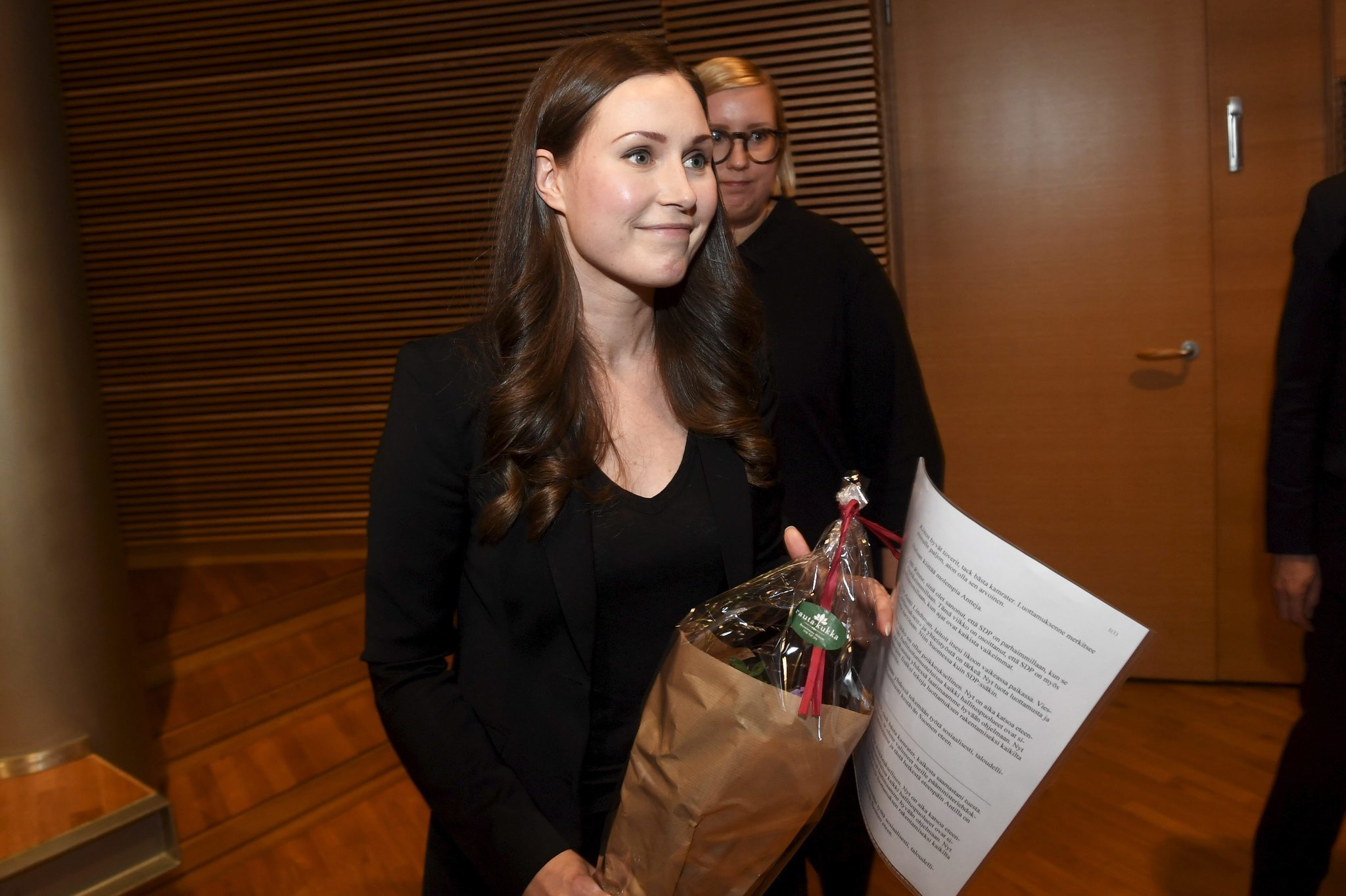 Finland elects country's youngest-ever prime minister, and its third female leader