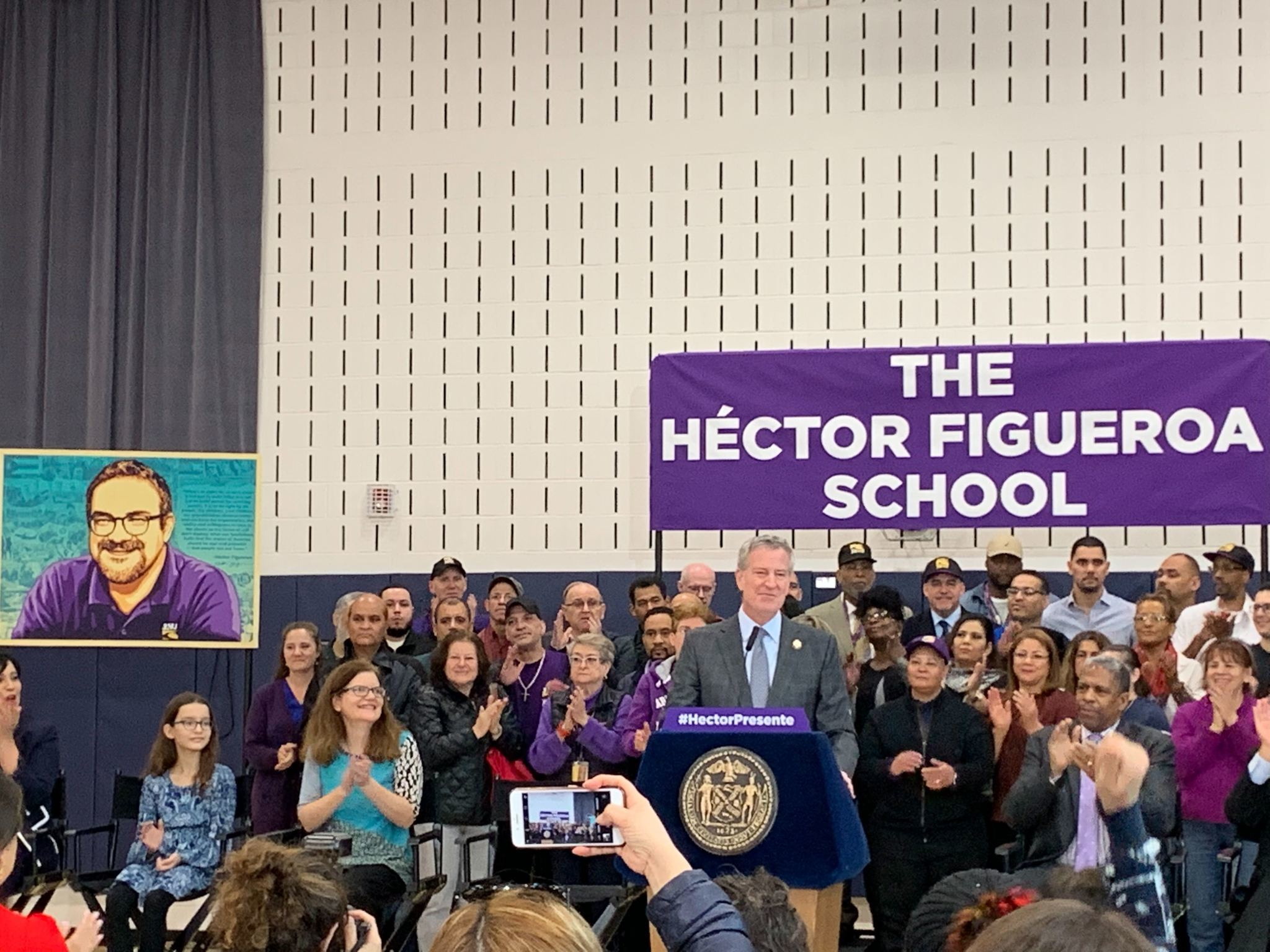 Queens elementary school named for union leader Hector Figueroa