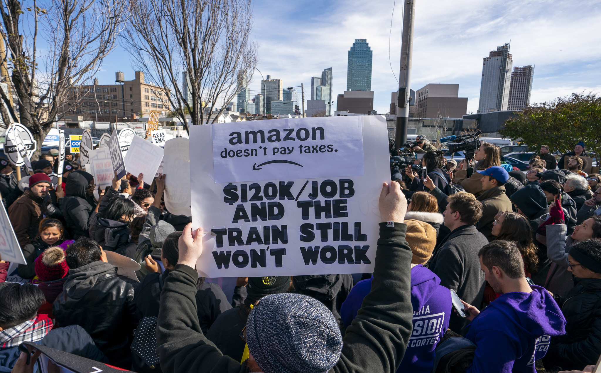 One-click politics: Setting the record straight on Amazon and New York City