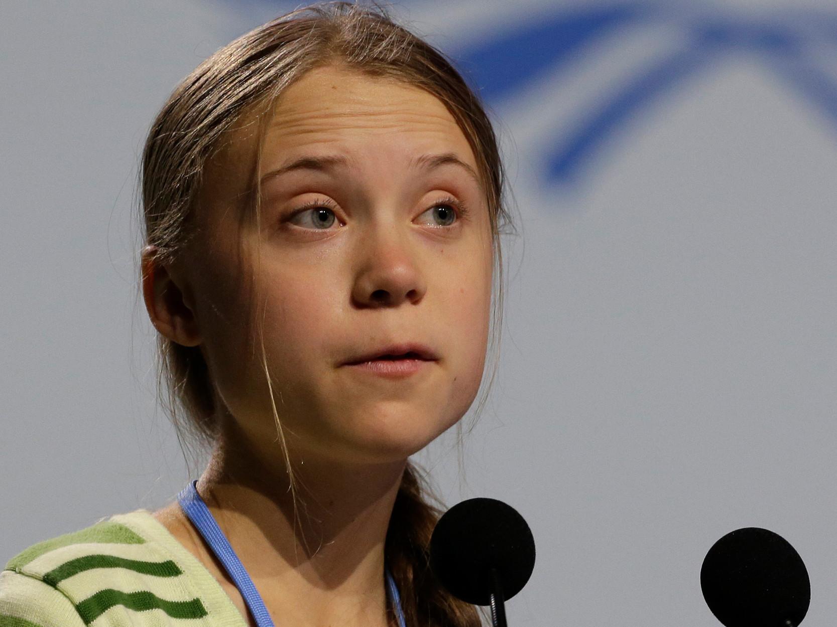 Greta Thunberg mocks Trump over 'chill' tweet