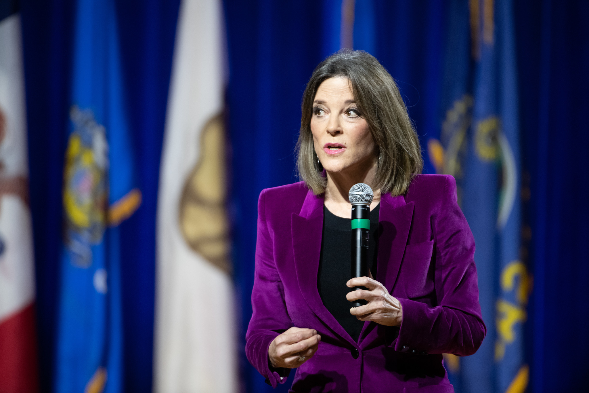 Marianne Williamson appears to be ending her unconventional presidential campaign