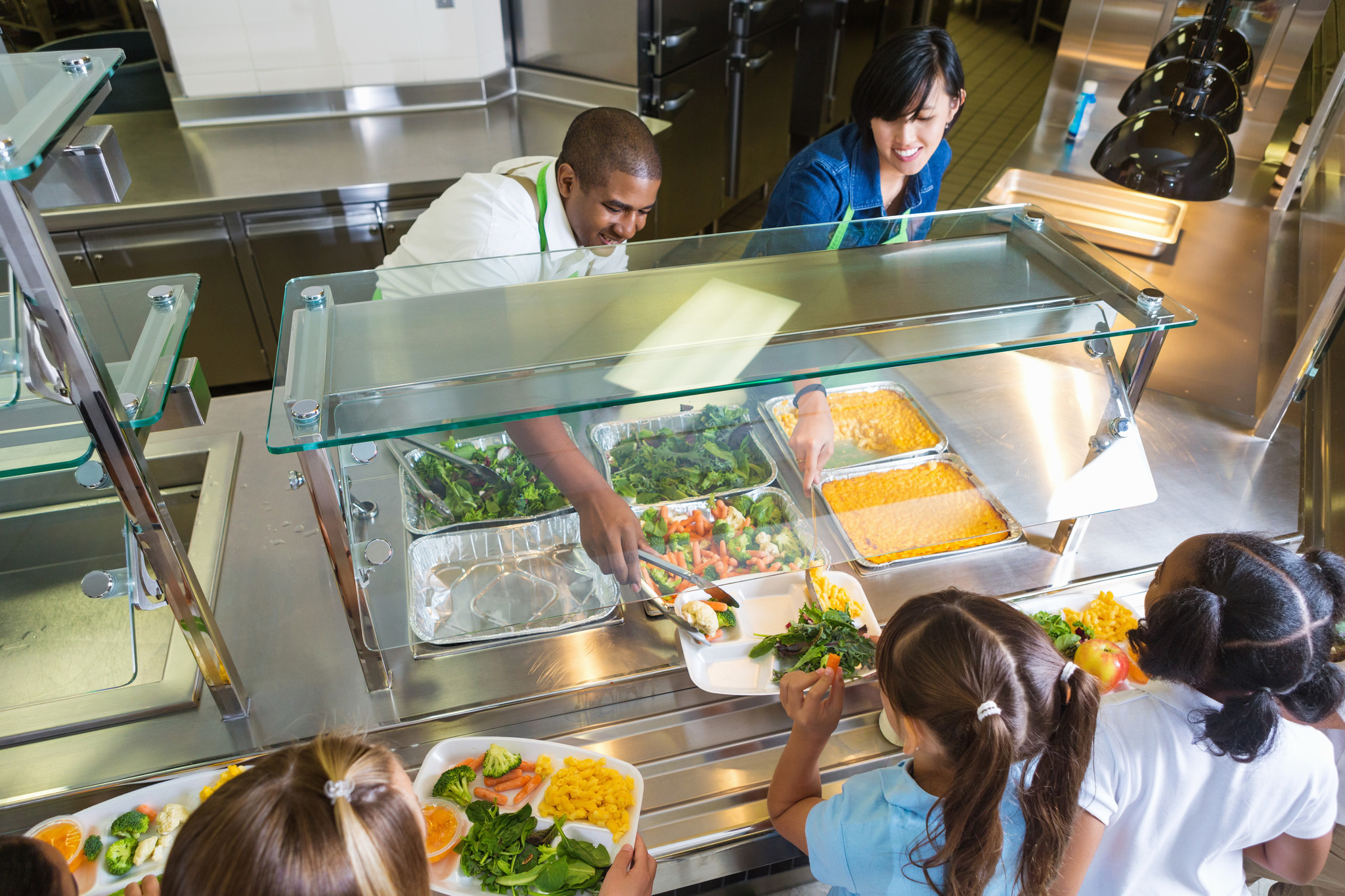 We can serve kids school meals made from scratch