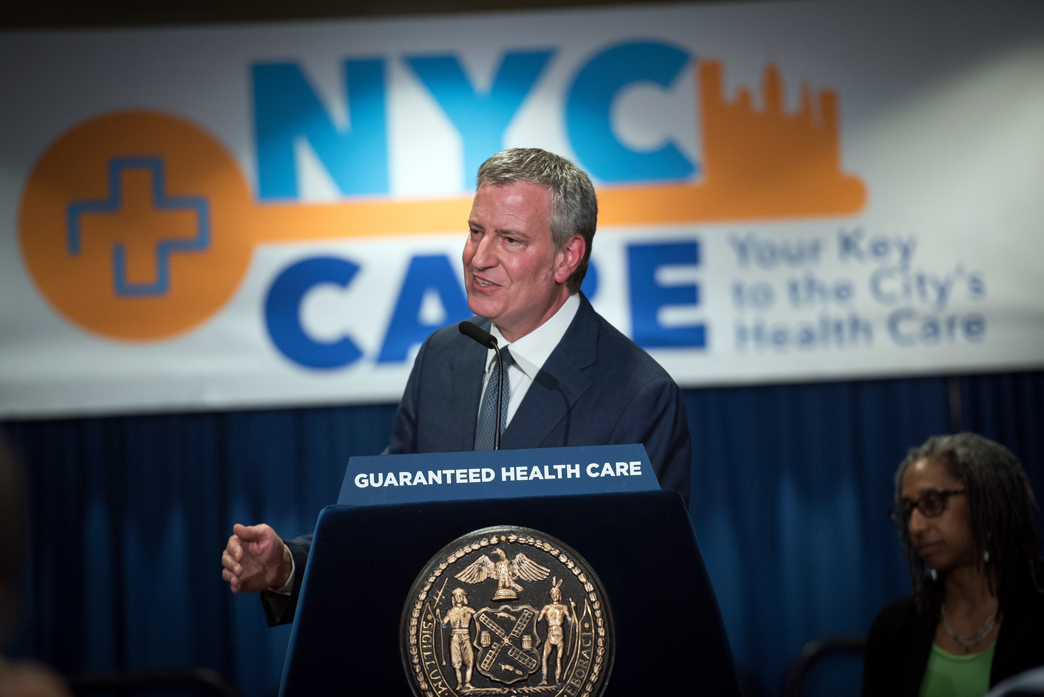 More than 10,000 Bronx residents enrolled in Mayor de Blasio's NYC Care health coverage card