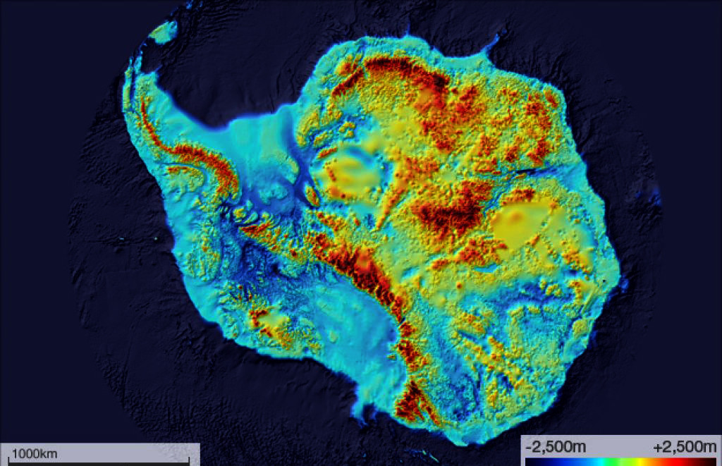 Meet the Antarctica-mapping BedMachine, and the deepest point on Earth