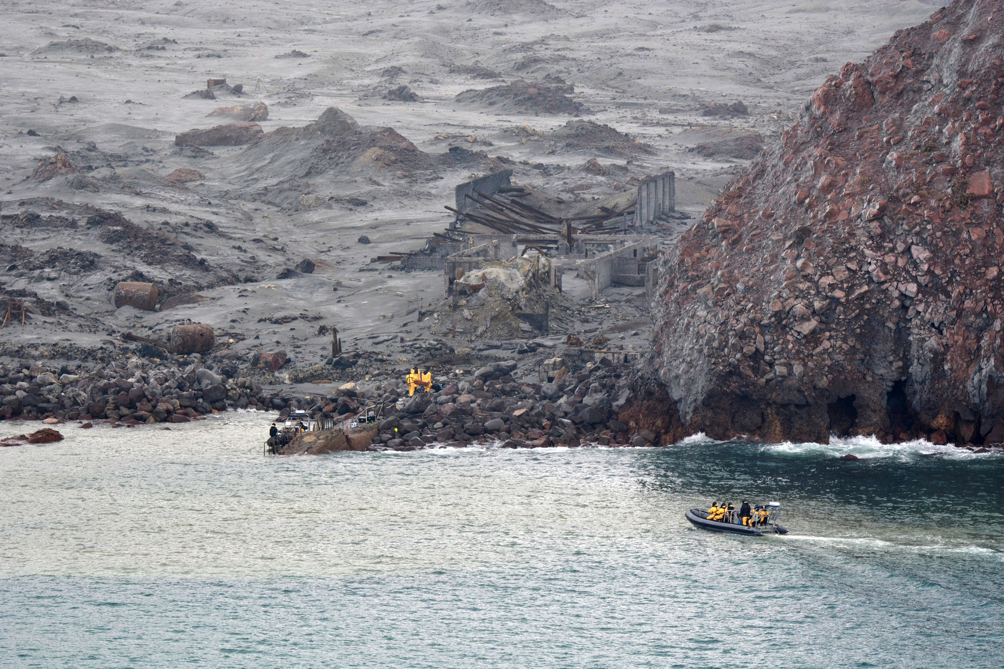 Six bodies recovered from New Zealand island after volcanic eruption, two still missing
