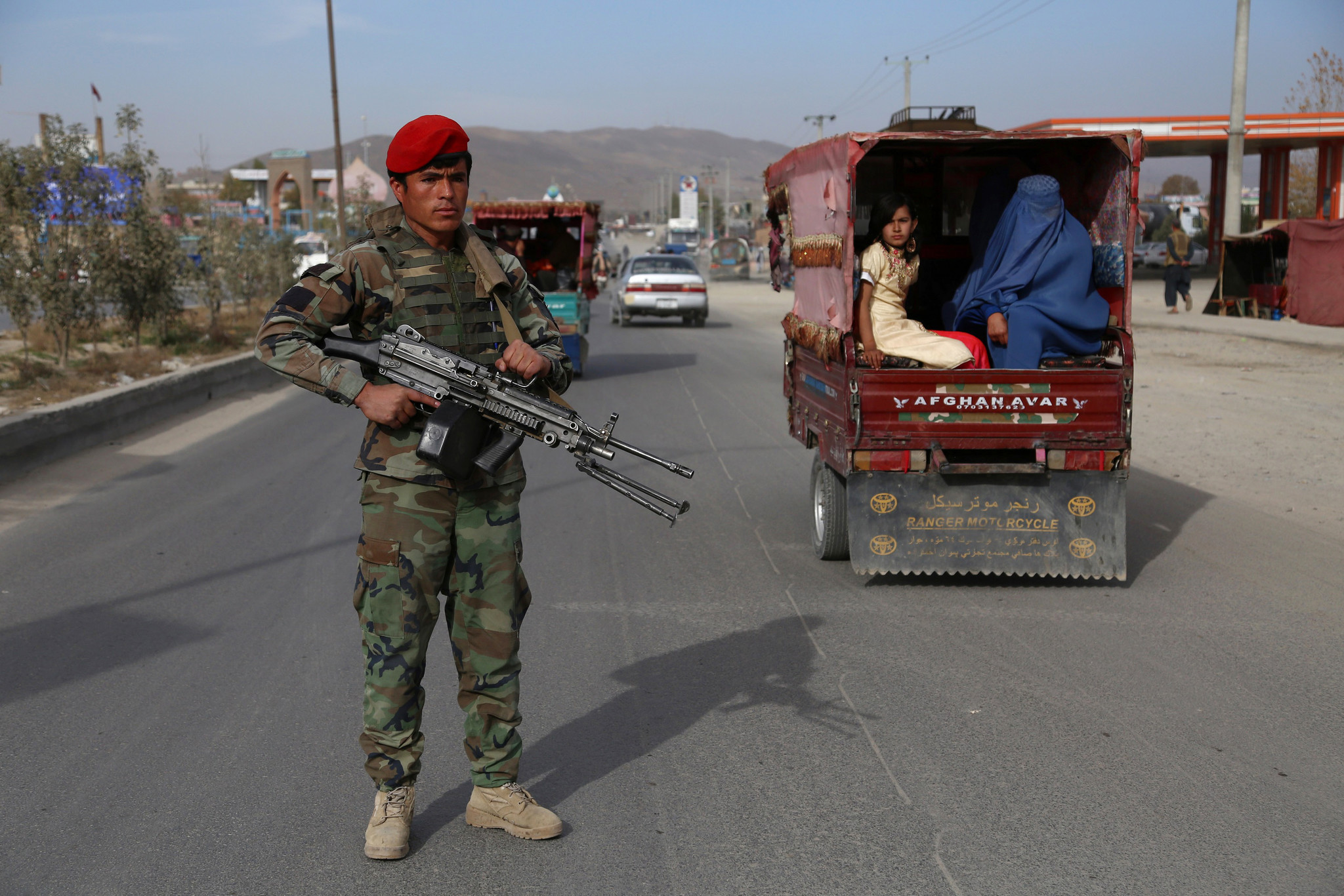 Several Afghan militia members killed in insider attack, officials say