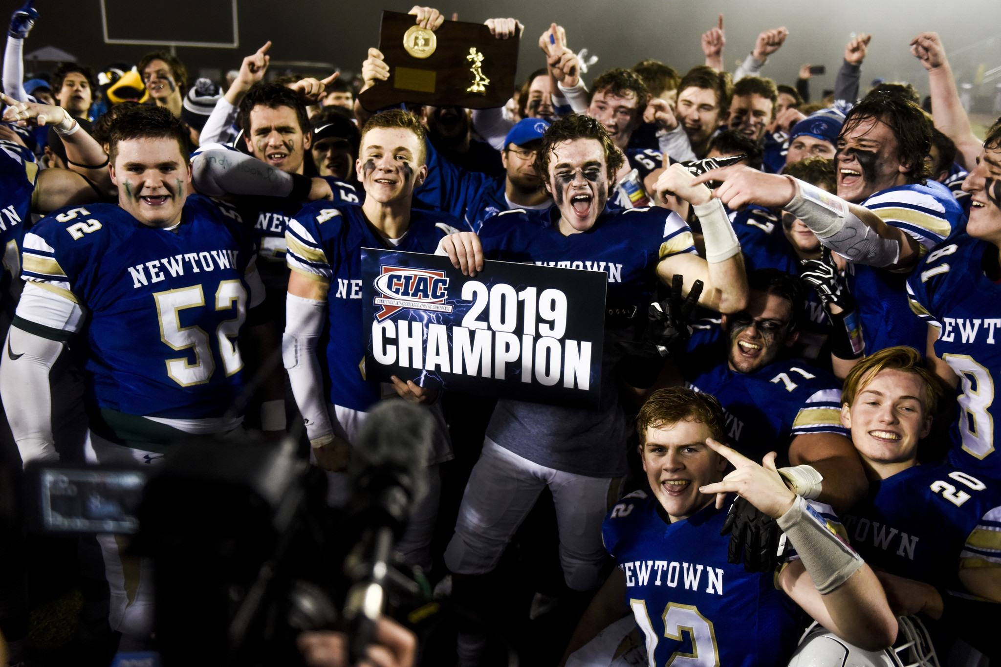 Survivors of 2012 Sandy Hook massacre lead Newtown High School to state football title