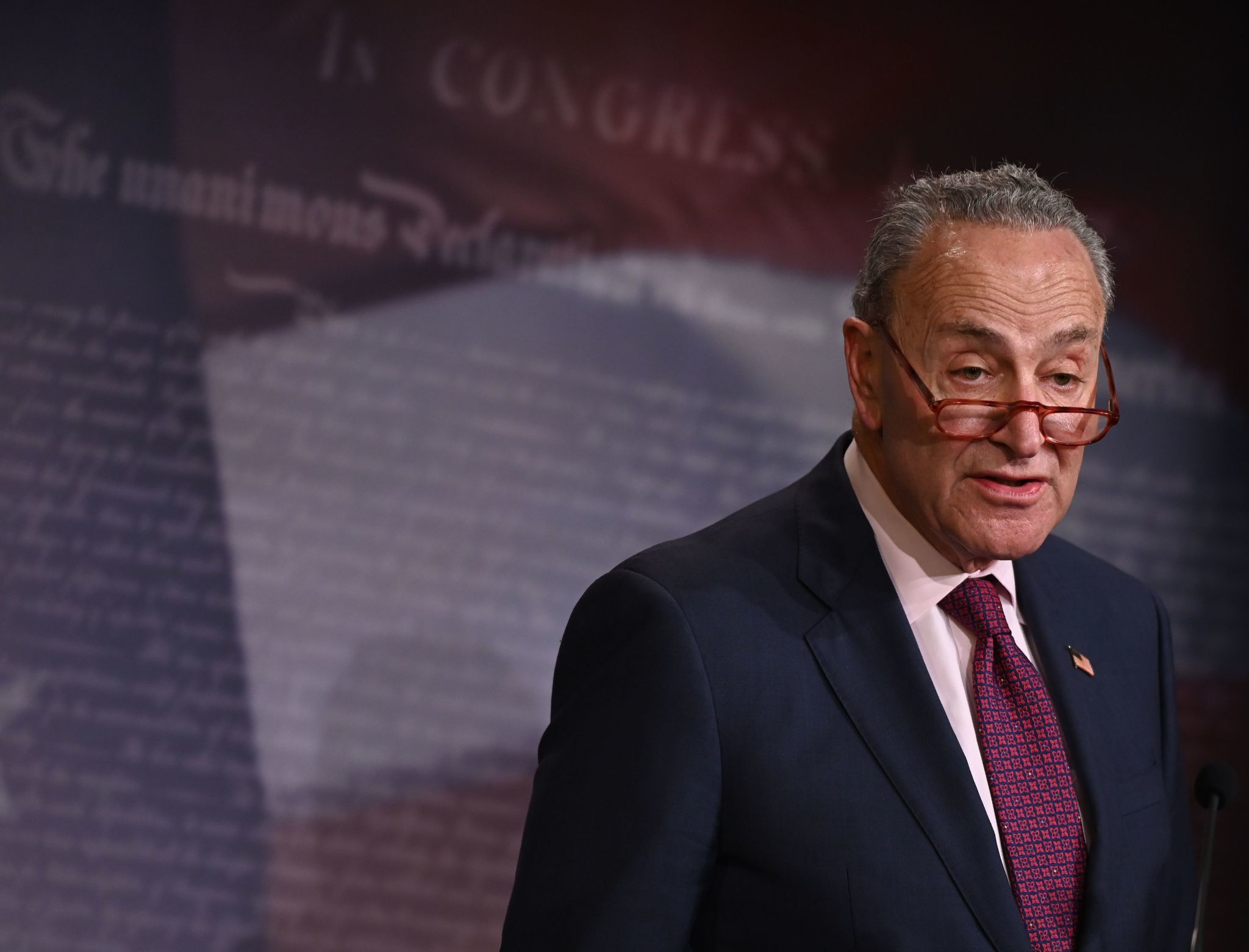 Schumer proposes outline for impeachment trial, wants Mulvaney, Bolton to testify, documents related to charges