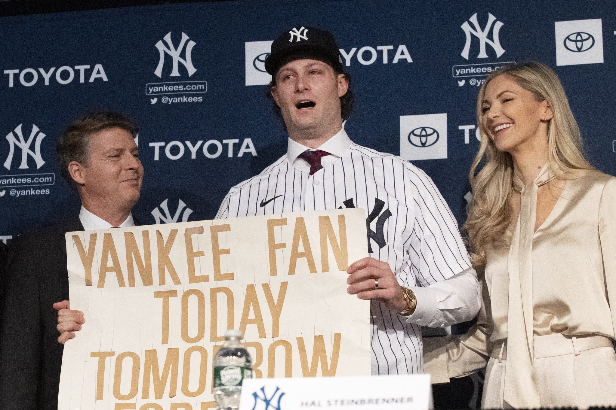 Hal Steinbrenner trying to look past Astros cheating scandal, focus on loaded Yankees squad