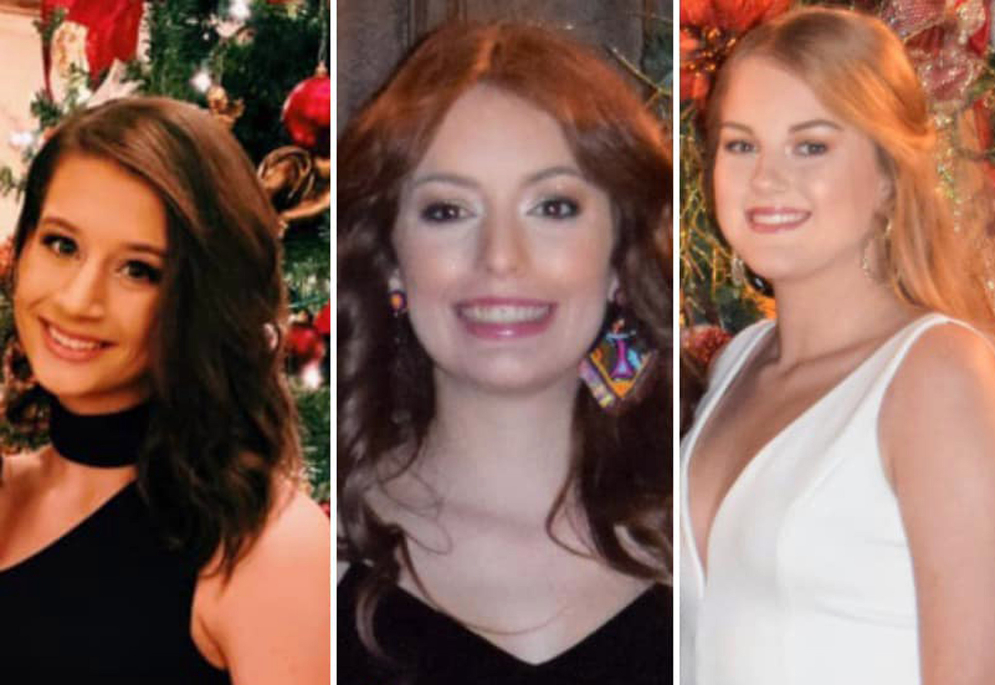 Three high school cheerleaders killed in one-car crash in Alabama on Christmas night