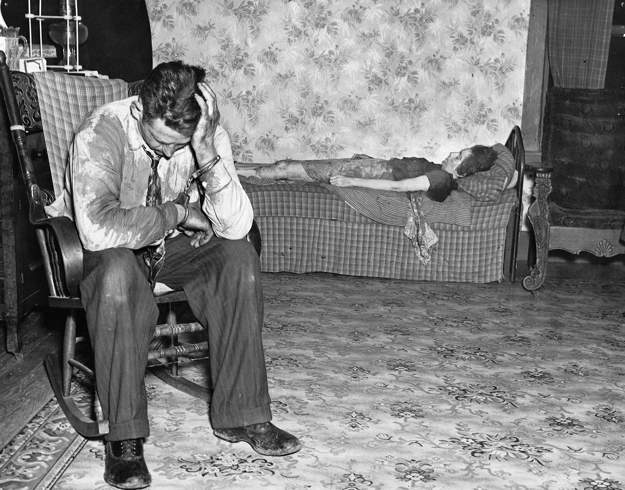 JUSTICE STORY: The tragic tale behind the haunting photo of a slain wife and her sorry husband