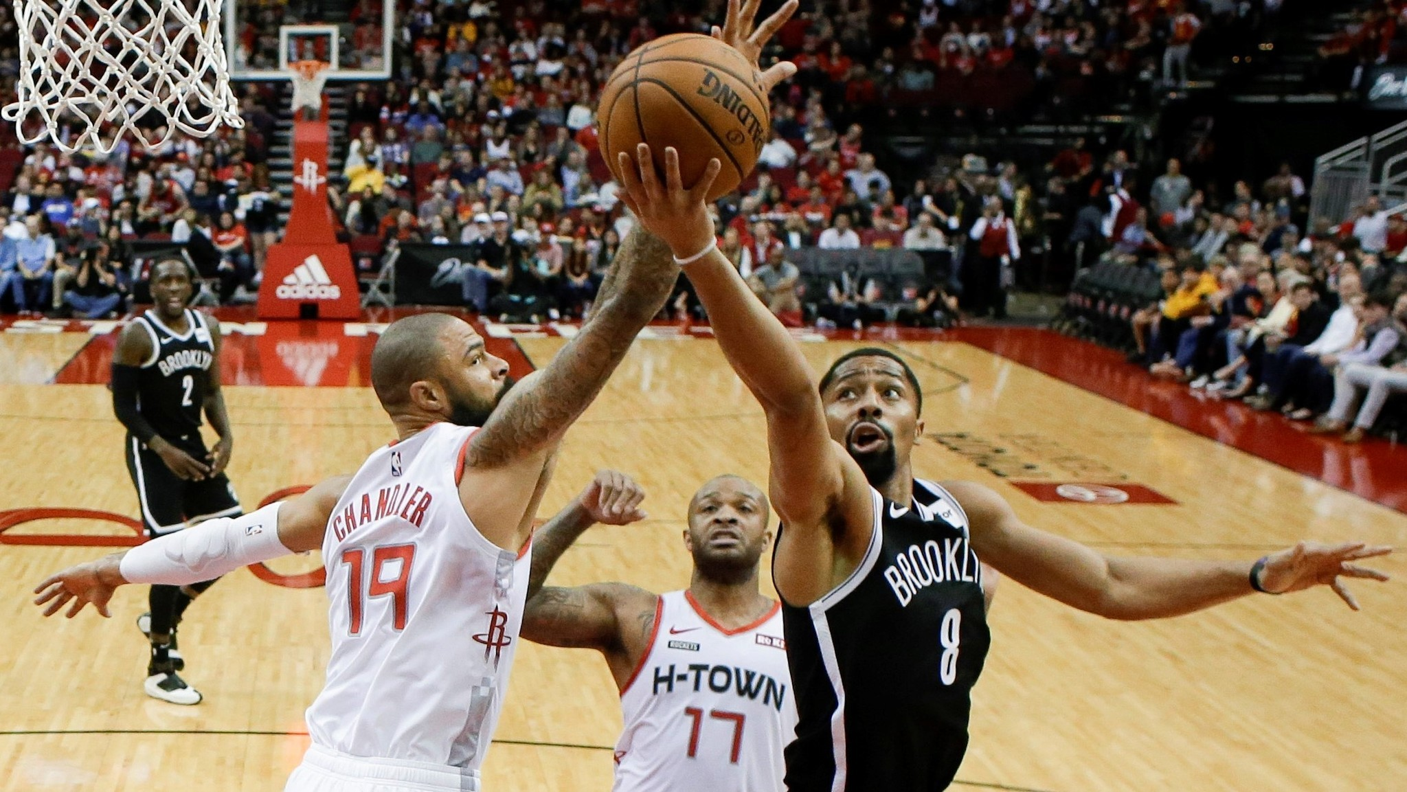 Shorthanded Nets can't finish comeback in loss to Rockets as James Harden drops 44