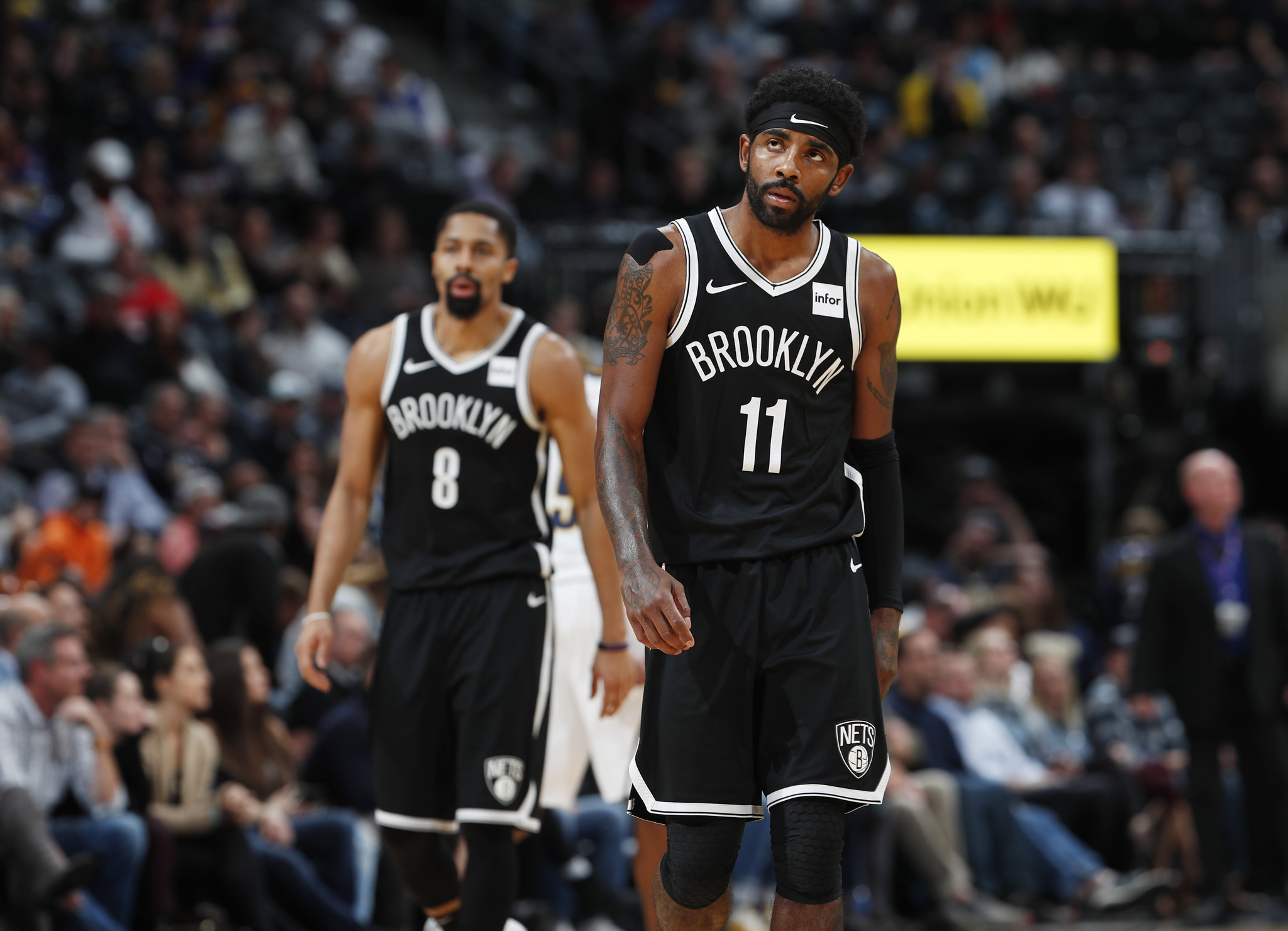 Kyrie Irving has four times as many All-Star votes as Spencer Dinwiddie