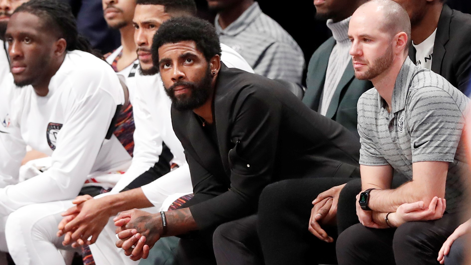 Kyrie Irving finally ends silence, says shoulder surgery is possible