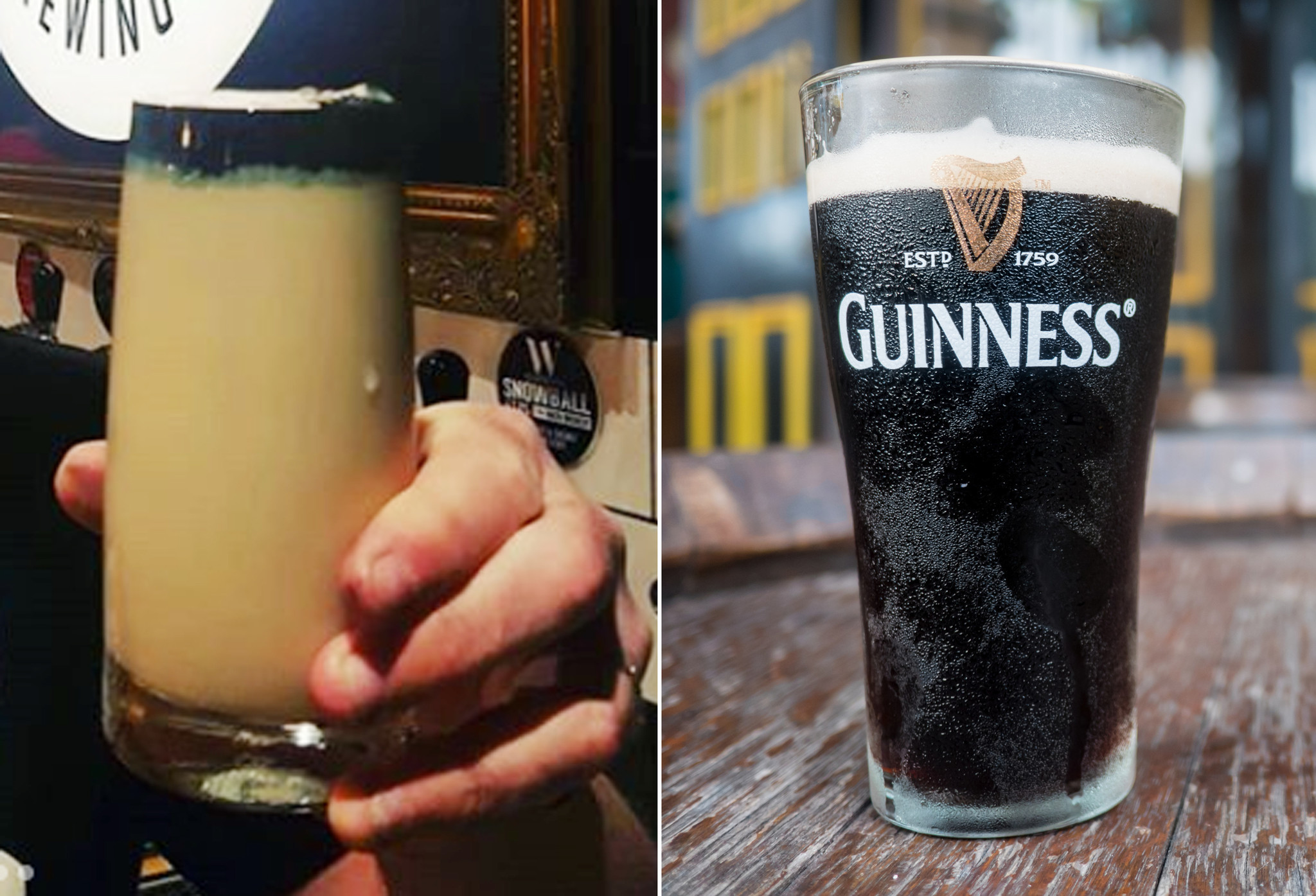 'Reverse Guinness' has beer drinkers all confused