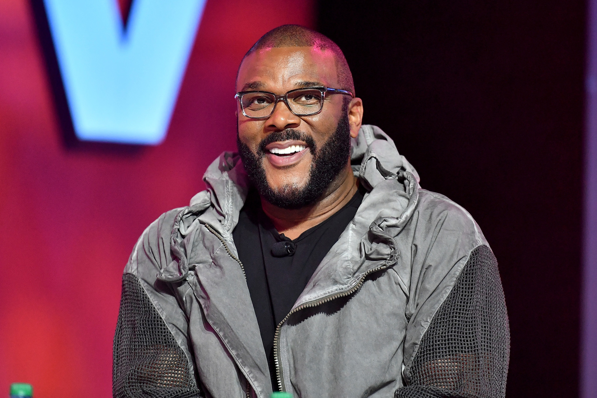 Touting 'work ethic,' Tyler Perry reveals he's the only person who writes his material