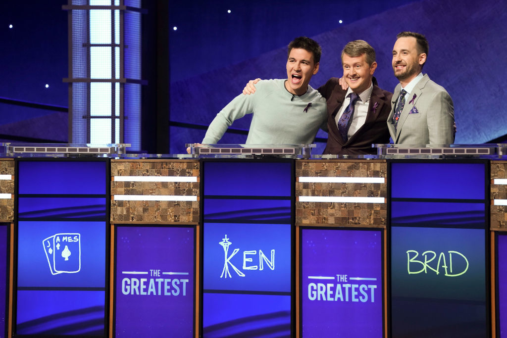 Ken Jennings claims Round 1 of 'Jeopardy' Greatest of All Time tournament