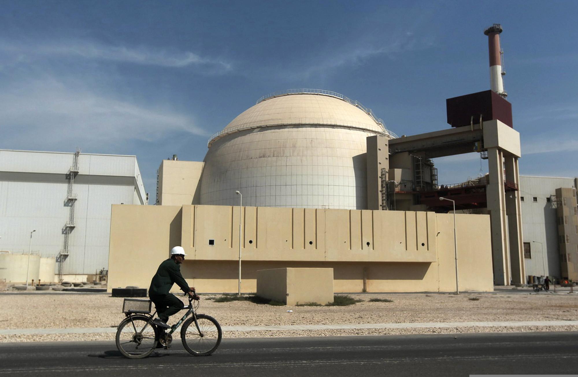 Magnitude 4.9 earthquake hits near Iranian nuclear power plant