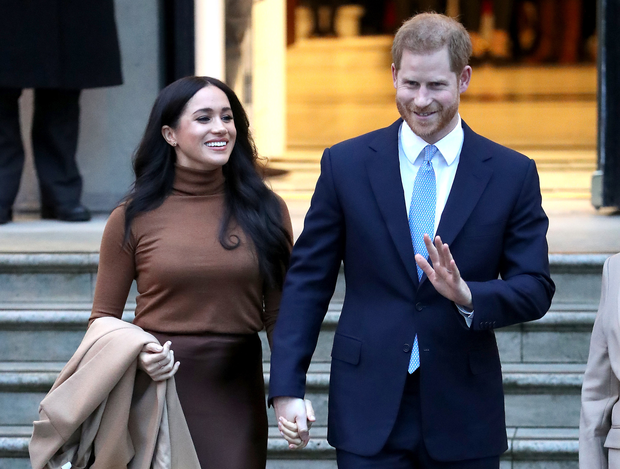 Prince Harry and Meghan Markle announce they'll 'step back' as 'senior members of the Royal Family'