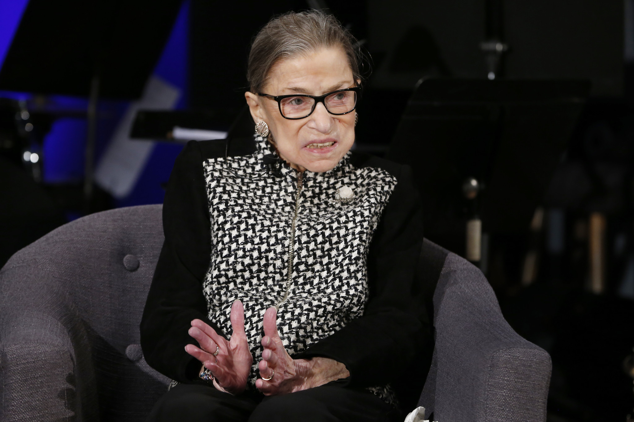 Ruth Bader Ginsburg says she's cancer free