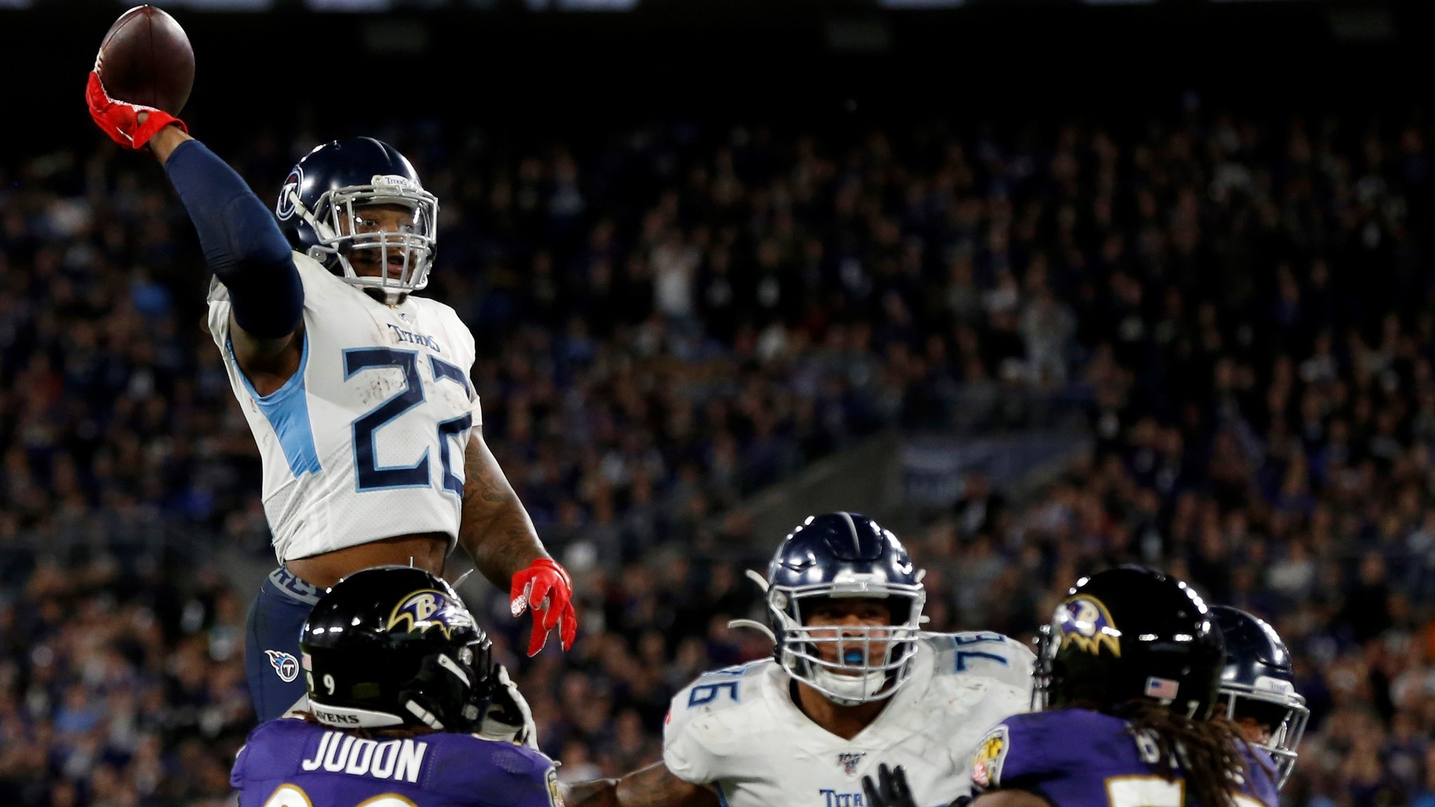 Titans dismantle Ravens in all-time upset to make AFC Championship Game