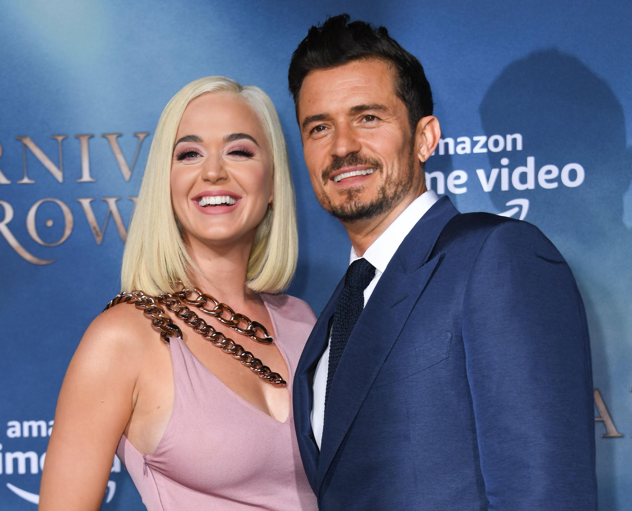 Katy Perry shares sappy birthday post for fiancé Orlando Bloom