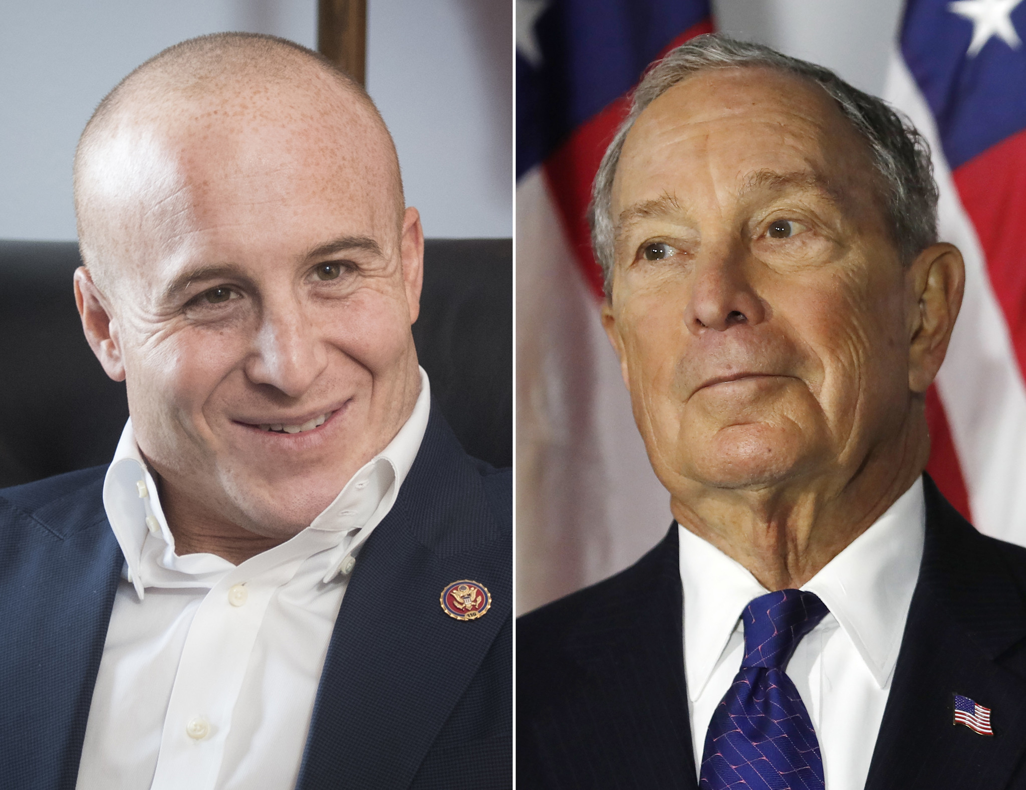 Rep. Max Rose is first member of Congress and first NYC elected official to endorse Bloomberg for president